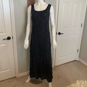Johnny Was Embroidered Maxi Dress Set w/ Jacket